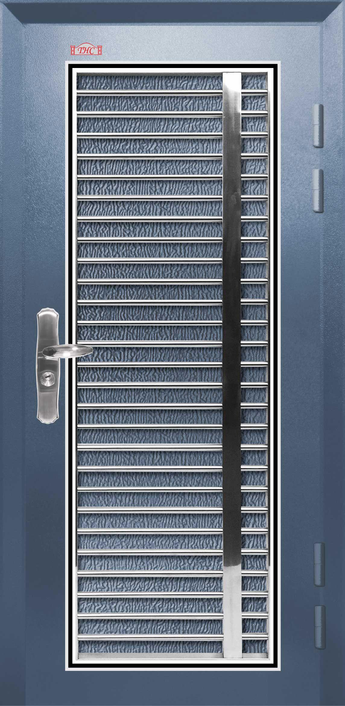 Security Door Safety Metal Home Main Hollow