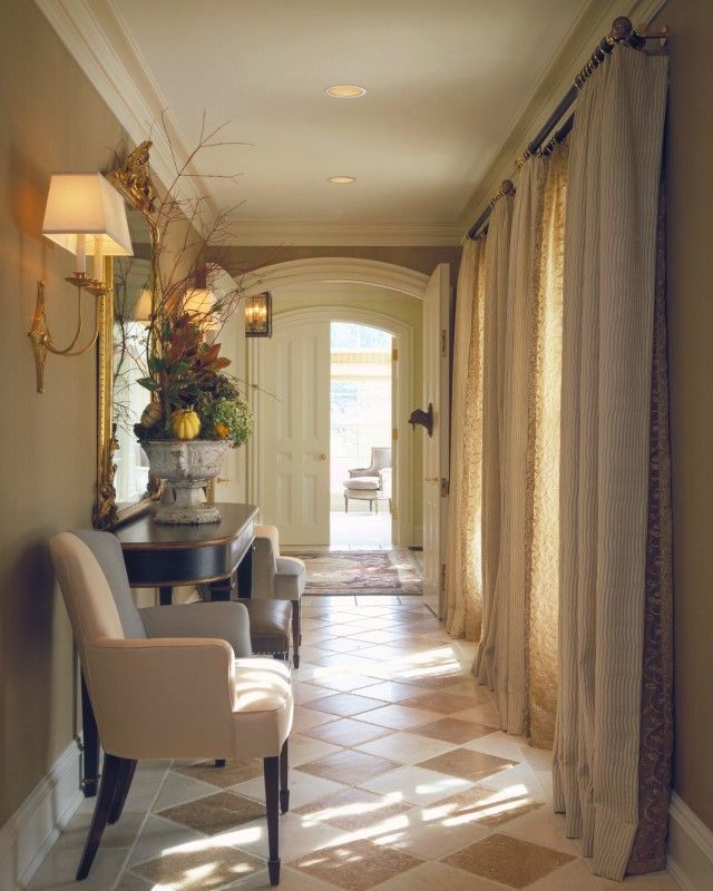 Lovely Contemporary Victorian Hallway: Beautiful Hallway!! Via Hickman Interiors.