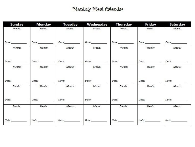 monthly diet calendar template calendar 2018 in 2018 pinterest