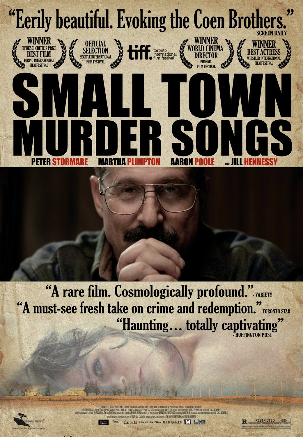 small town murder songs jill hennessy martha plimpton small town murder songs imdb a modern gothic tale of crime and redemption about an aging police officer from a small ontario mennonite town who hides a