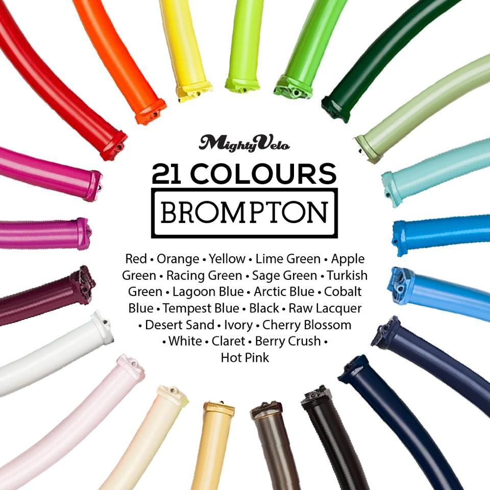 Did You Know We Have All The 21 Colours Of Brompton Under One