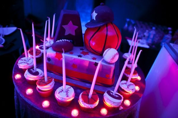 Unique Candle Lighting Ideas Sports Theme Bar Mitzvah