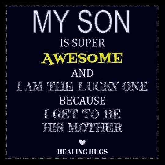 Mother Son Quotes I Love My Son My Son Quotes