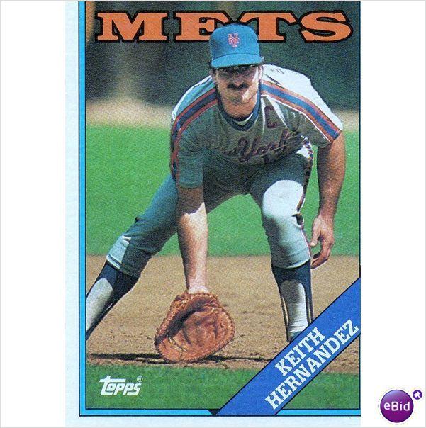 Topps Keith Hernandez Baseball Card Sny Announcer Baseball