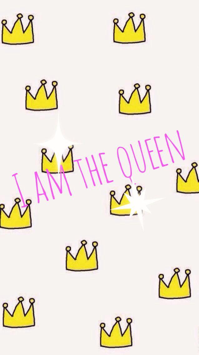 Fond D Ecran I Am The Queen Wallpaper Queen Neon