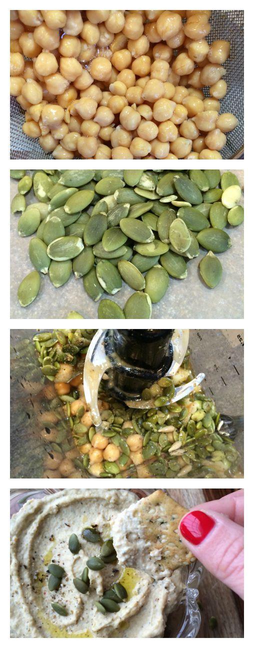 Raw Pumpkin Seed Hummus