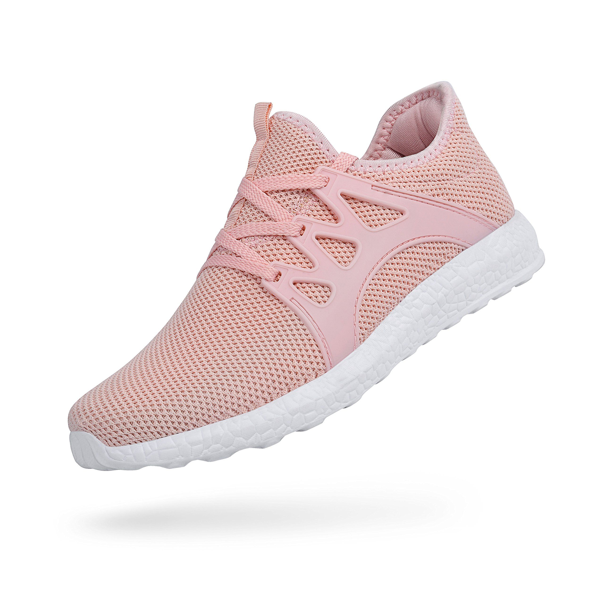 551286df8 Feetmat Womens Sneakers Ultra Lightweight Breathable Mesh Athletic Running  Shoes Plus Size 6 Pink *** You can get more details by clicking on the  image.