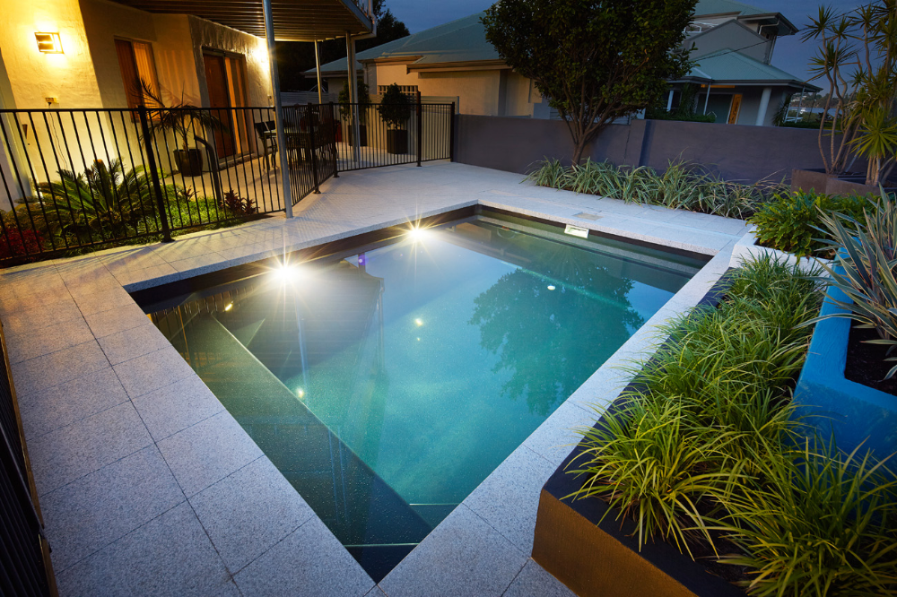 4 7m Fibreglass Plunge Pool Range Barrier Reef Pools Perth Plunge Pool Pool Barrier Reef Pools