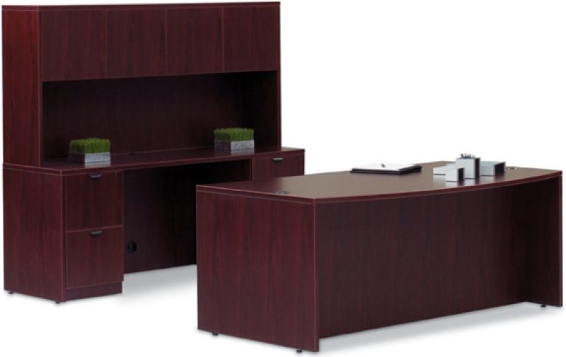 Executive Desk With Hutch Computer Office Furniture
