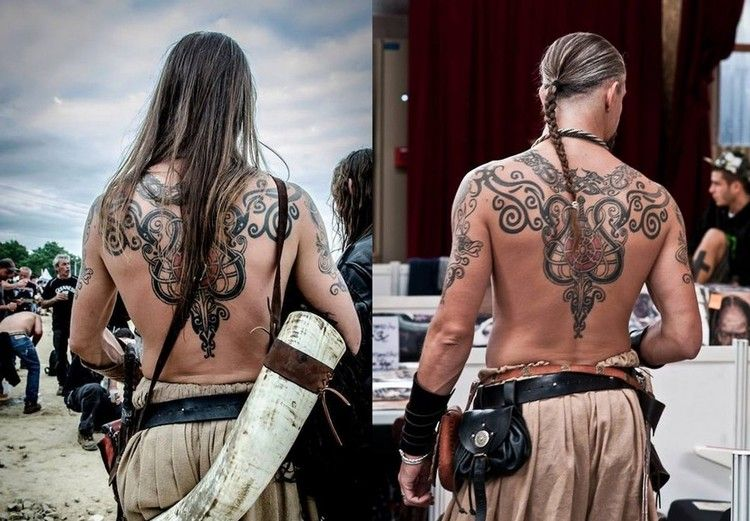 tatouage viking signification des symboles et photos inspirantes tatouages pinterest. Black Bedroom Furniture Sets. Home Design Ideas