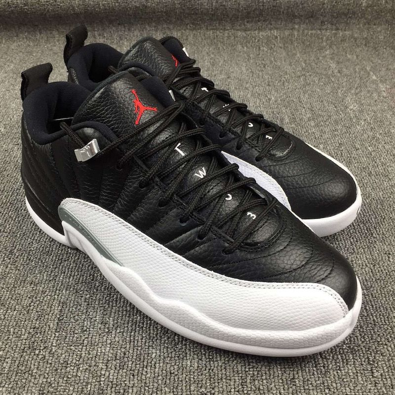 Jordan Retro 12 Low Playoffs Mens Size 10.5