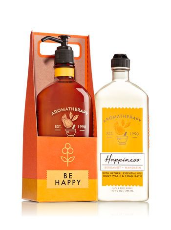 Aromatherapy Happiness Bergamot Amp Mandarin Be Happy Gift Set