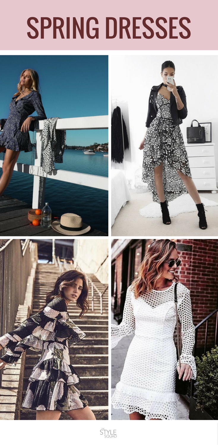 Spring Fashion Ideas For Women That Are Chic Simple And Ready To Wear Style Ideas And Spring Outfits Spring Fashion Dresses Spring Outfits Spring Outfit