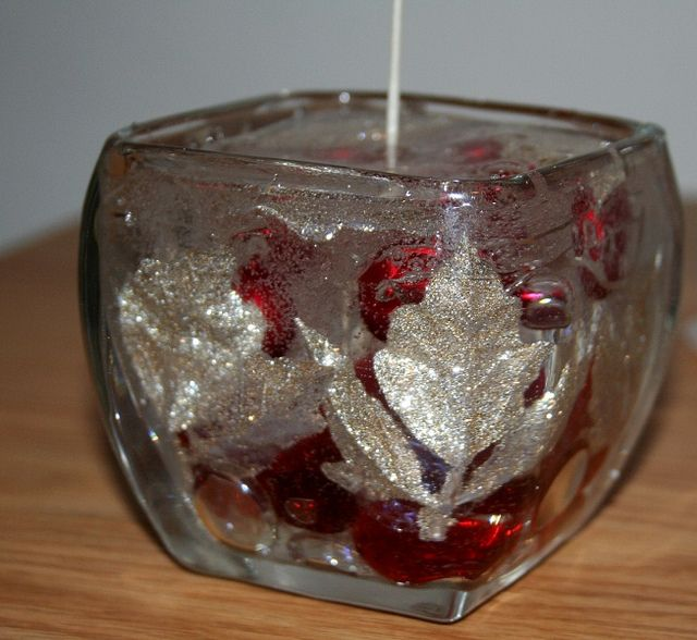 Clear Gel Wax Diy Christmas Candle Via Flickr 5 To Make Gel Candles Gel Wax Candles Gel Candle Diy