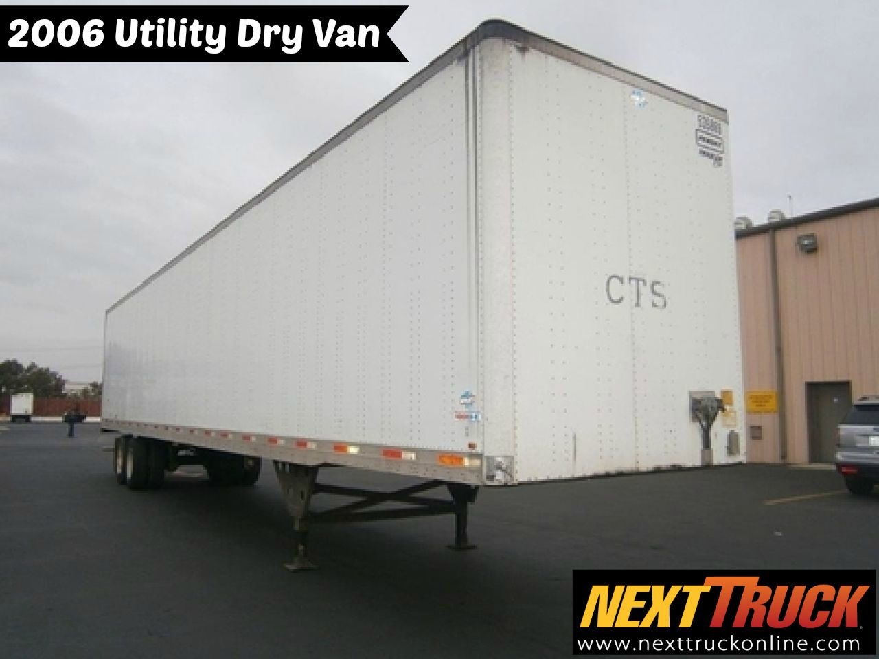 Our featured trailer is a 2006 Utility 53 x 102 Dry Van