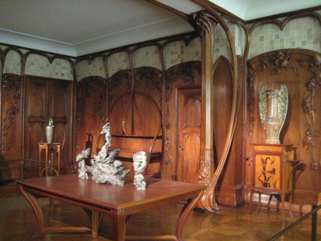 henry van de velde smoking room gif google search meubles art nouveau entre autres. Black Bedroom Furniture Sets. Home Design Ideas