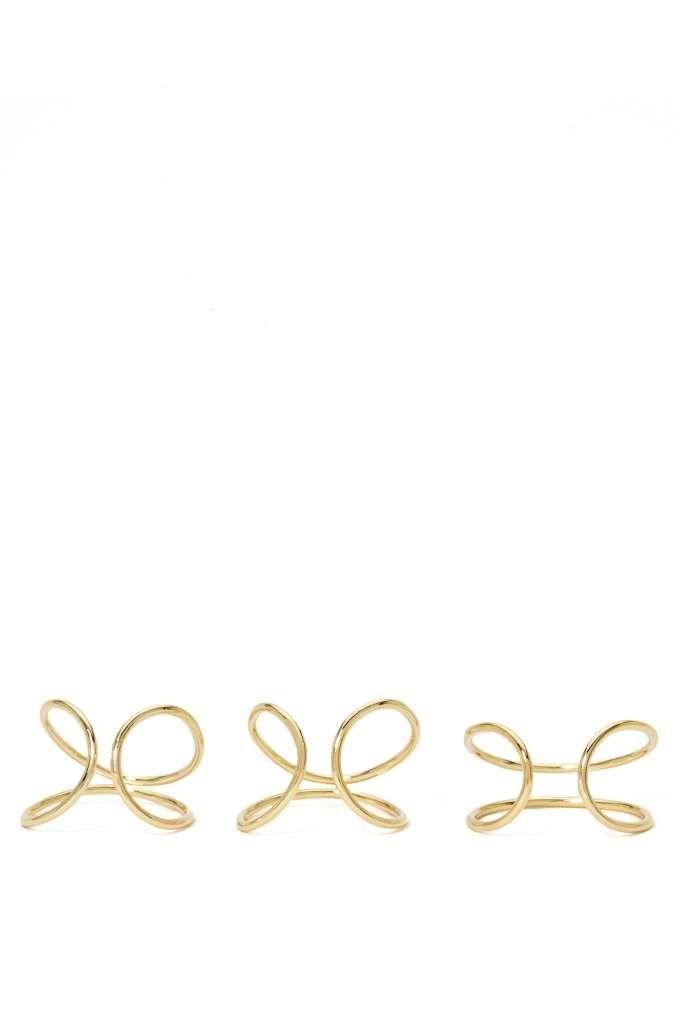Gold Standard Ring Set