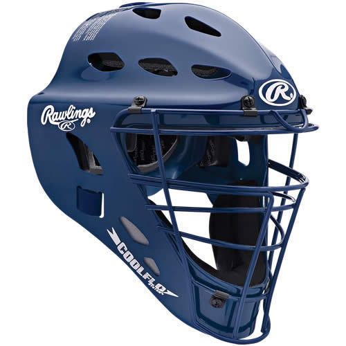 Catcher's Protection Sporting Goods Rawlings Cool Flo Baseball Catchers Helmet