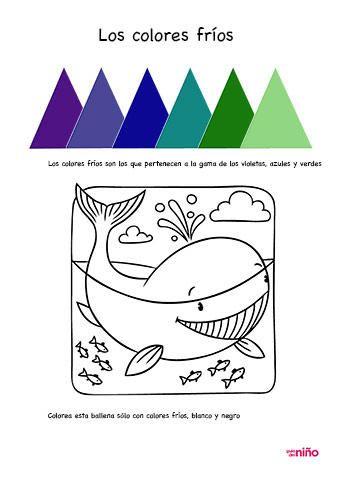 Moderno Patrones De Coloración Fríos Festooning - Ideas Para ...