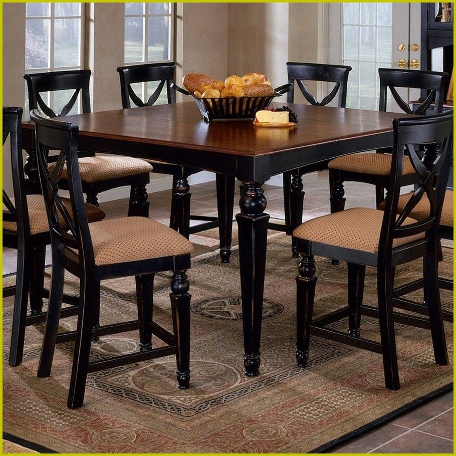 40 Reference Of Tall Square Kitchen Table And Chairs Top Kitchen Table Black Kitchen Table Square Kitchen Tables