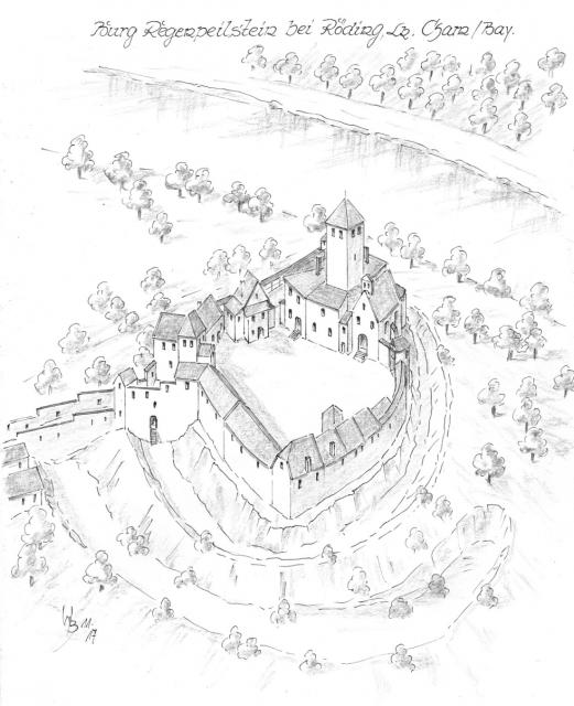 Burg Regenpeilstein Burg Burgen Und Schlosser Festungen