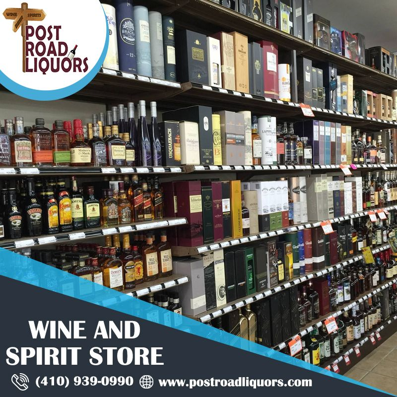 Wine and spirits store in 2020 wine and spirits store