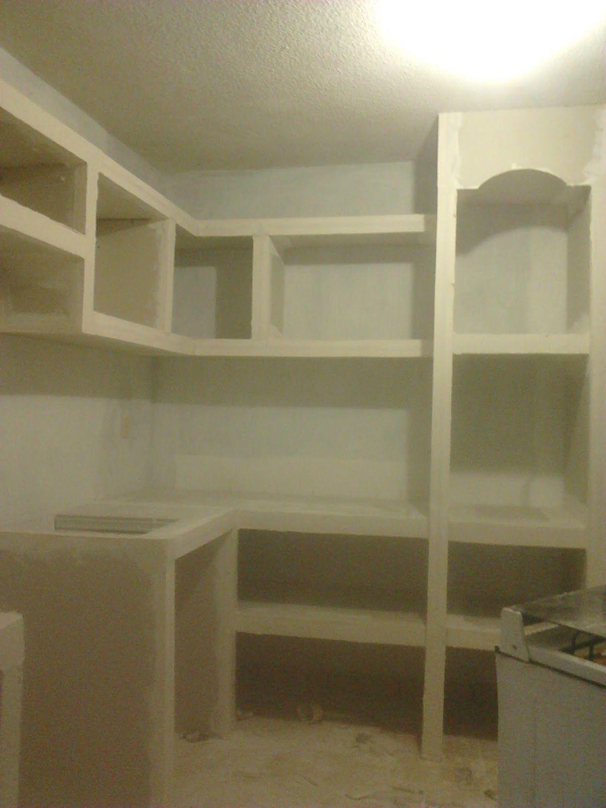 Mueble De Durock Ideas Diseno De Gabinete De Cocina Hacer