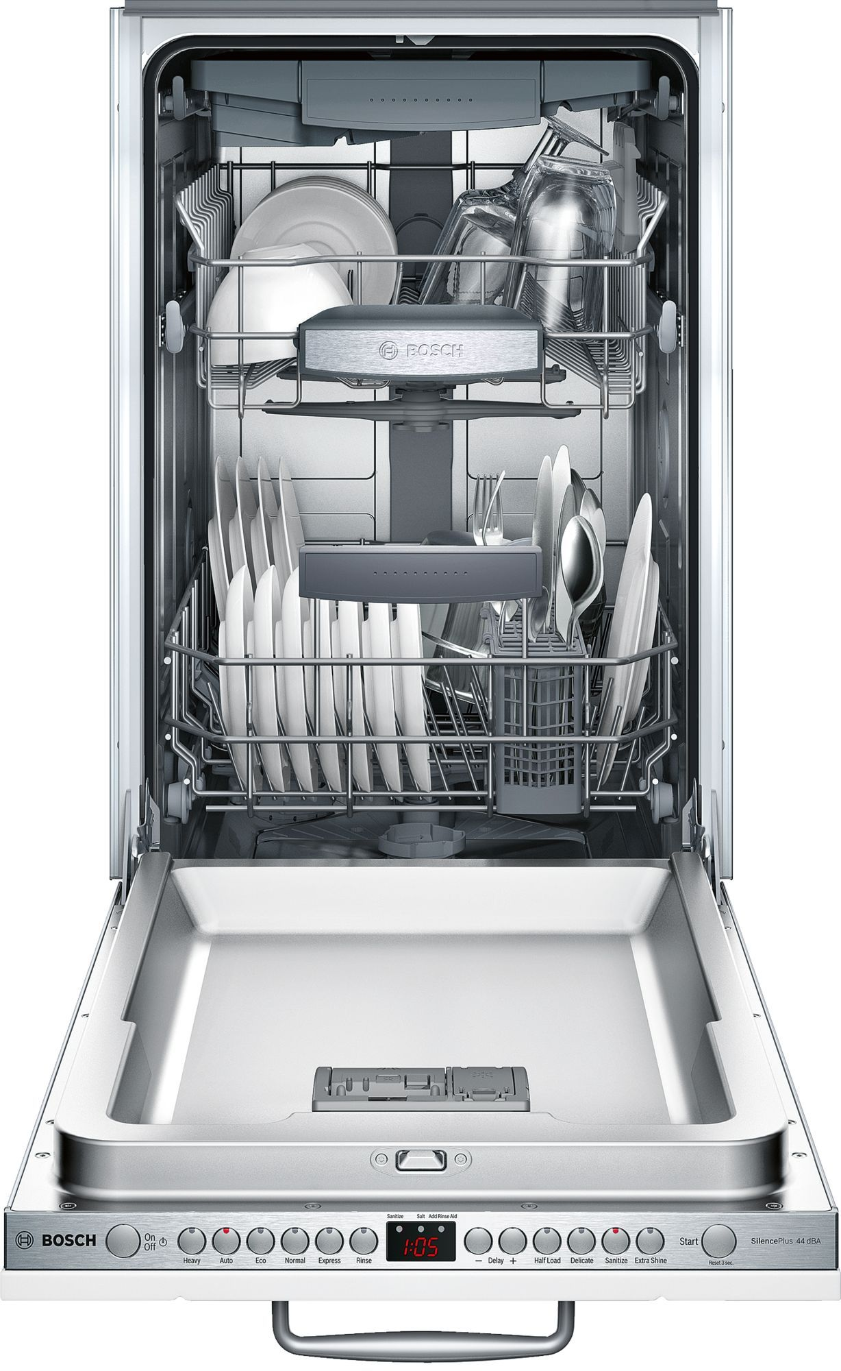 Bosch Spv68u53uc Dishwasher Steel Tub Built In Dishwasher Integrated Dishwasher