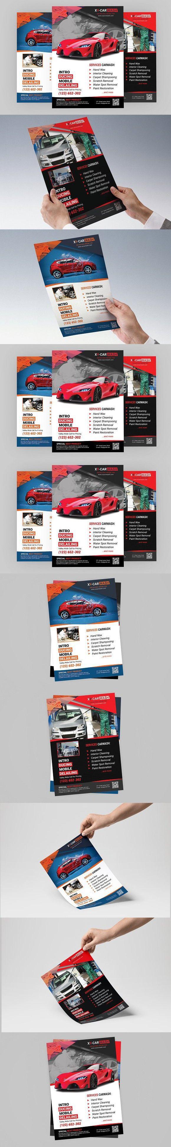 car wash flyer templates flyer templates pinterest flyer