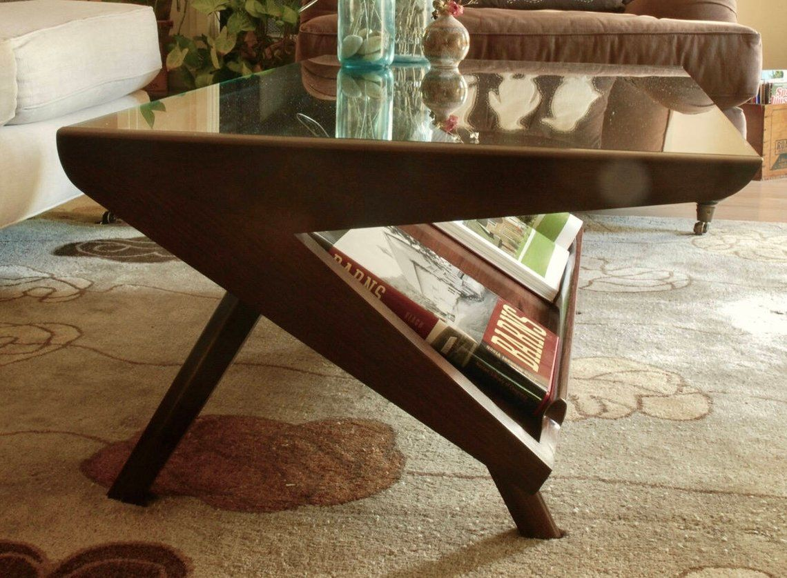 Mid Century Modern Coffee Table In 2021 Mid Century Modern Coffee Table Modern Coffee Tables Modern Dinner Table [ 838 x 1140 Pixel ]