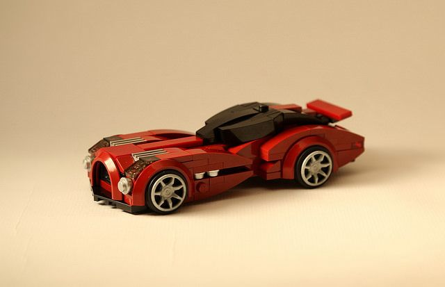 Lego Mocs Micro ~ 6 wide dark red | by RGB900