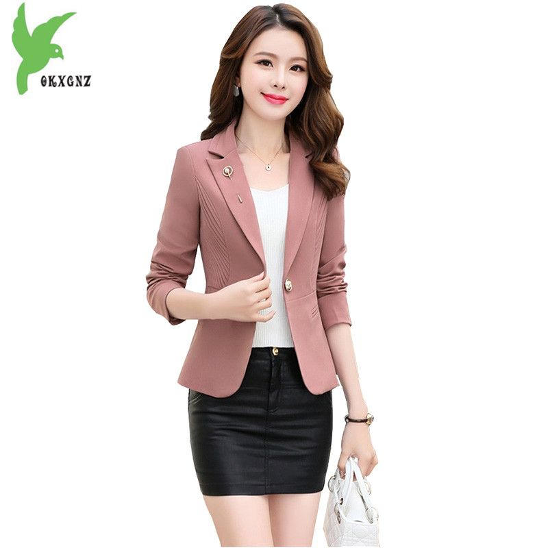High Quality Small Blazers And Jackets Women 2018 Spring Short