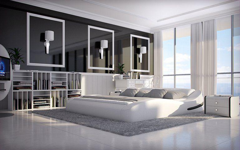 Innocent Polsterbett 180x200cm Kunstleder weiß »Grisognio« Pinterest - komplett schlafzimmer mit matratze und lattenrost