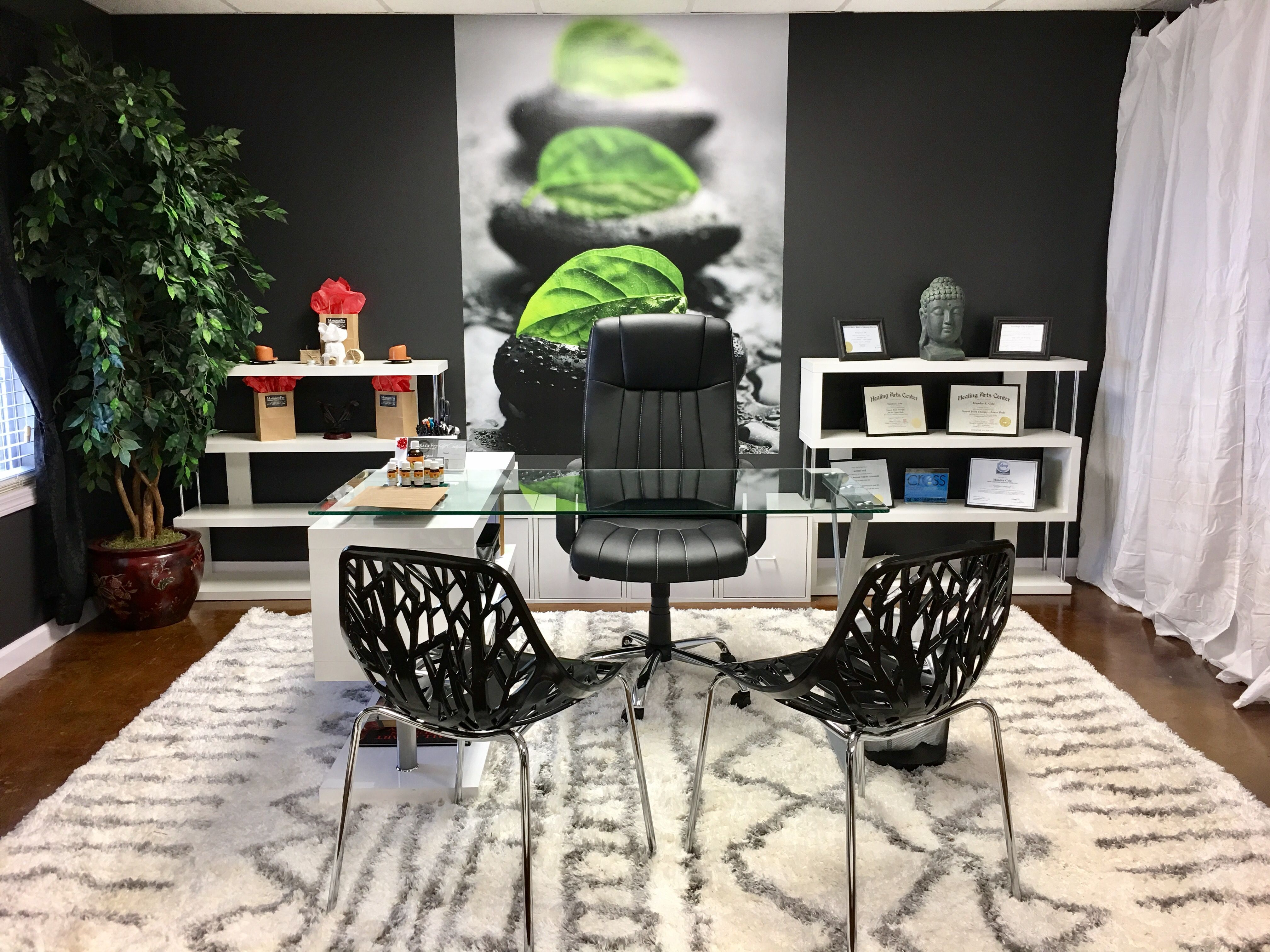 Massage therapy studio modern office massagefit wynne