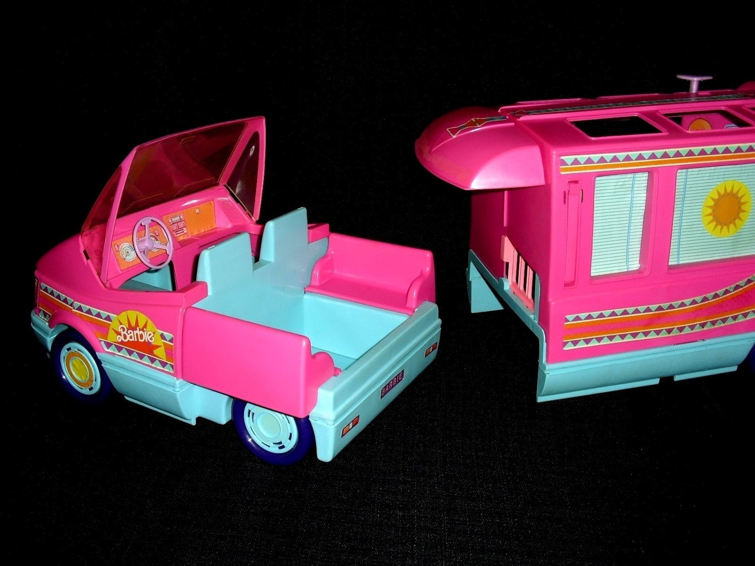 rare vintage 1988 barbie mattel western fun toy. Black Bedroom Furniture Sets. Home Design Ideas