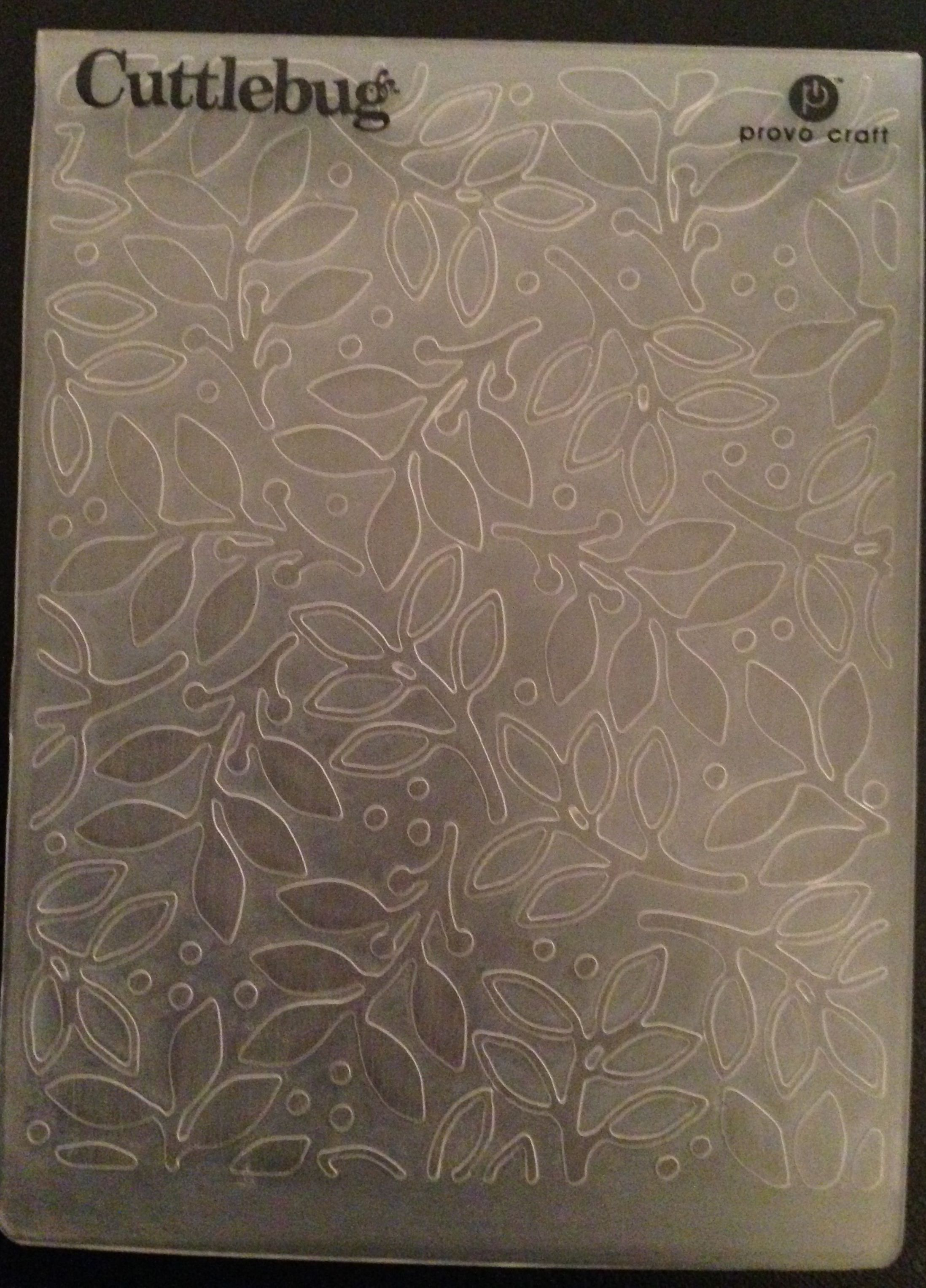Help! Does anyone know the name of this embossing folder? Thanks.