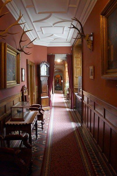Corridor Of Lanhydrock Palais Uk Country House