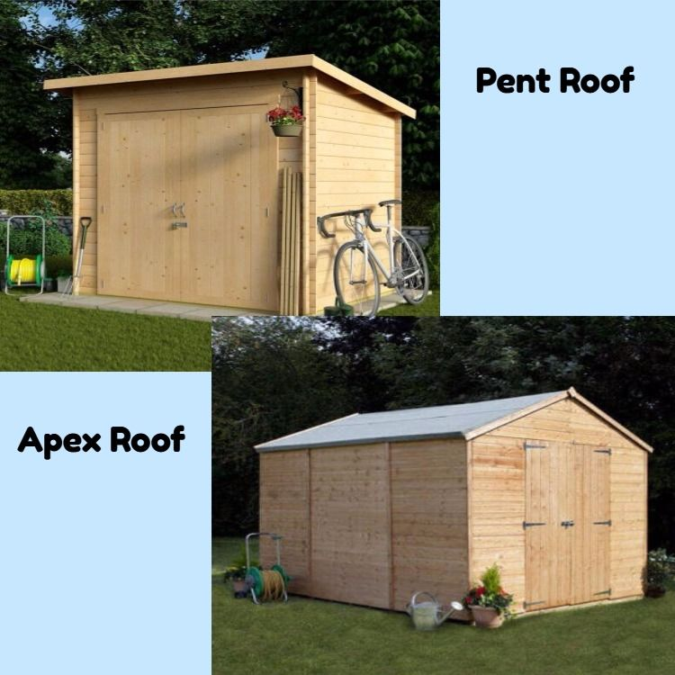 You May Want To Have A Simple Garden Shed, But These Two Popular Roof Styles