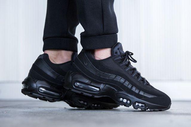 NIKE AIR MAX 95 (TRIPLE BLACK) Sneaker Freaker | Sneakers