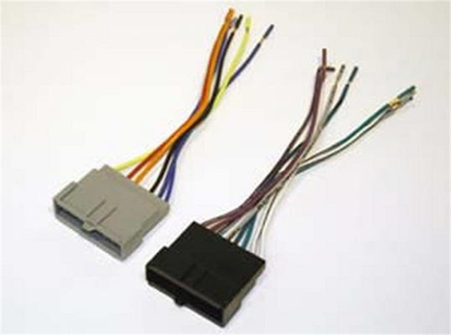 Scosche Fd02b Wiring Harness Kit Car Ford Stereo Ford