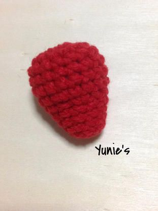 Free Crochet Pattern Strawberry Amigurumi Crochet Strawberry