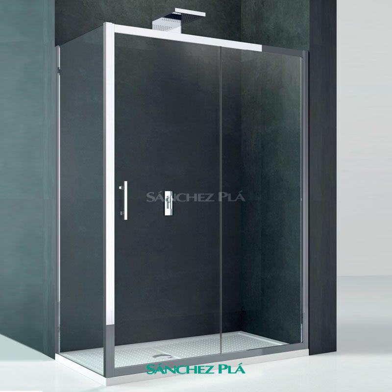 Mamparas y separadores de ducha cabel con cristal templado - Mampara ducha cristal ...
