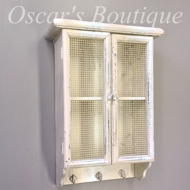 White Shabby Country Vintage Chic Style Wall Shelf Display