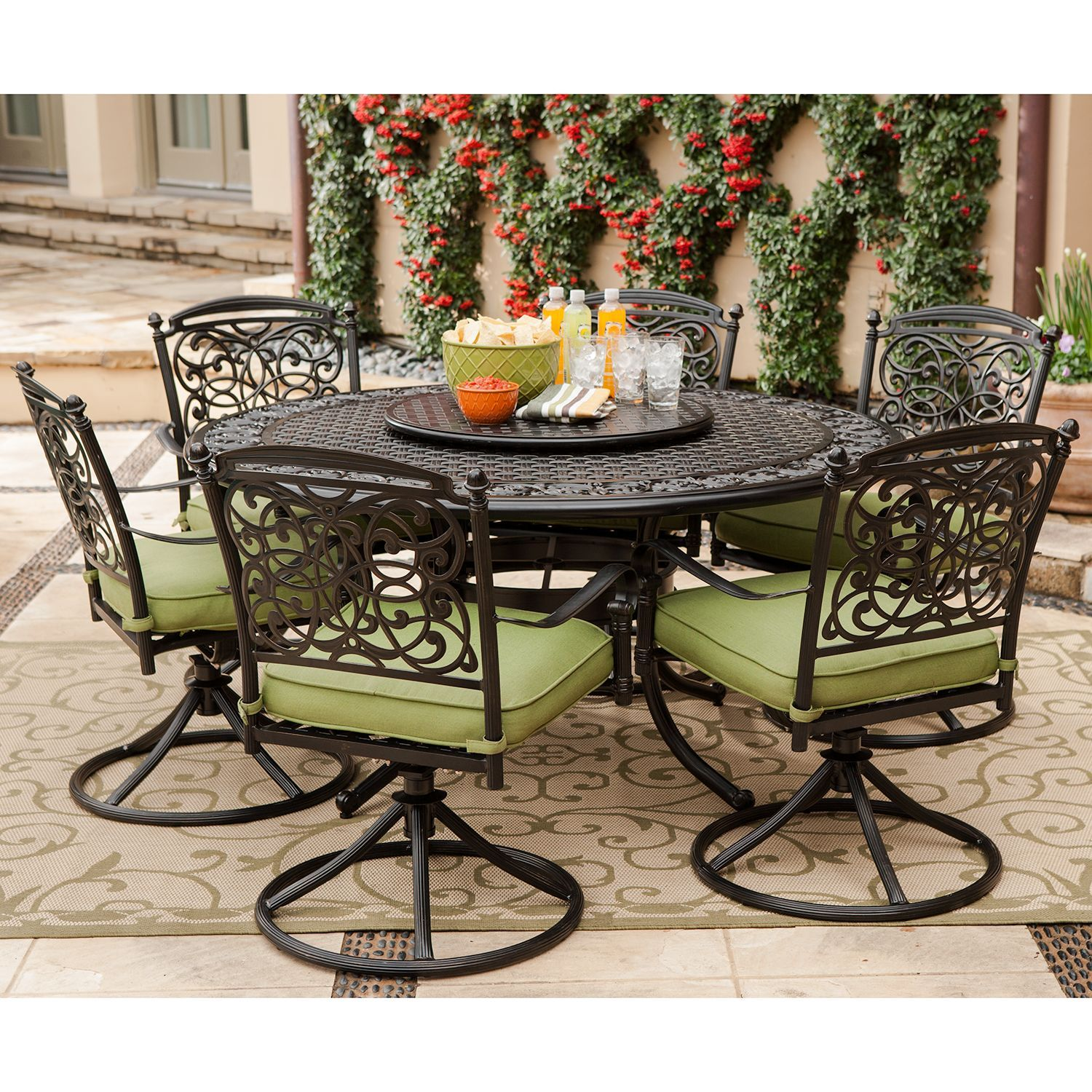 Renaissance Outdoor Patio Dining Set