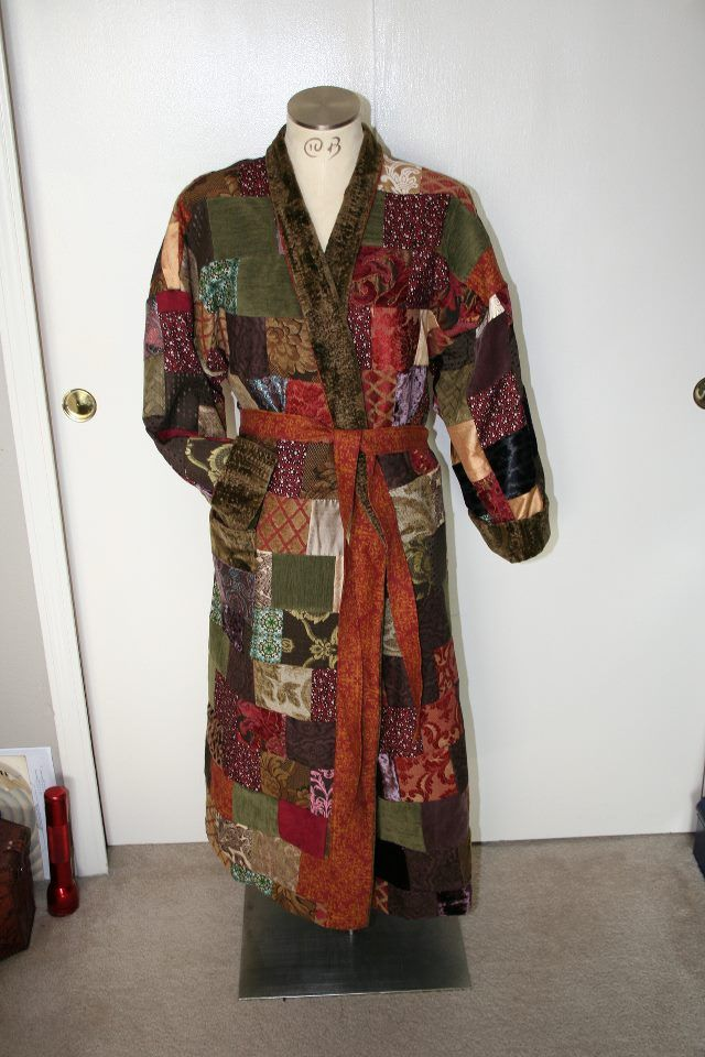 Bilbo\'s dressing robe (link to diy for the brave and adventurous ...