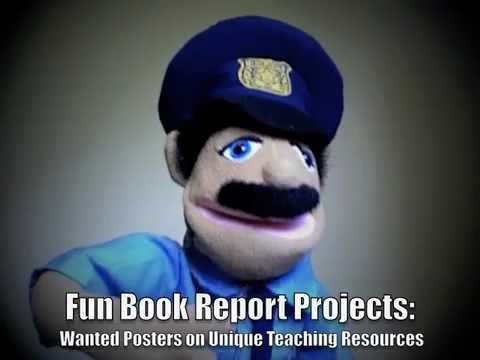 In this video, Office Read describes why your students will enjoy - examples of wanted posters