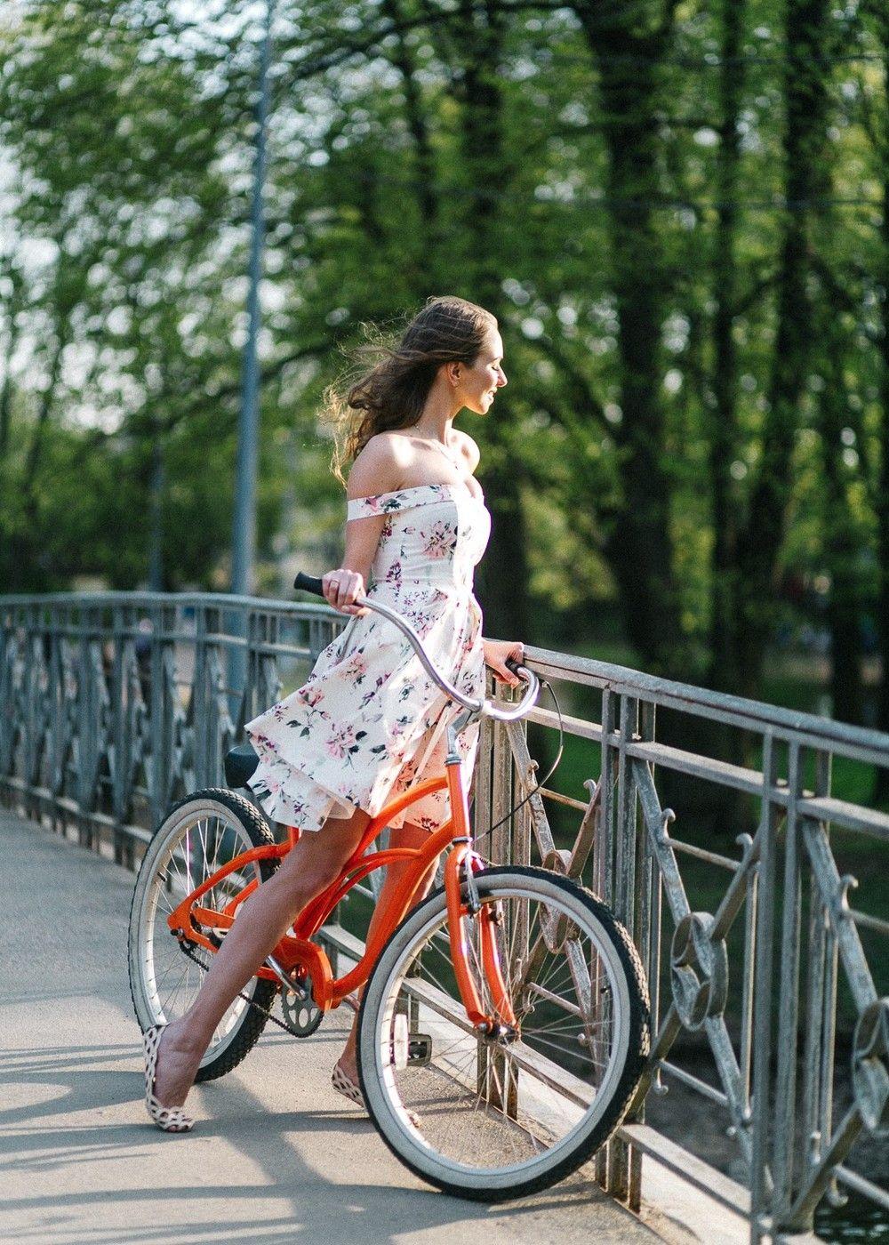 фотосессия на велосипеде позы понятно, что такая