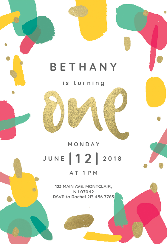 Customize Add Text And Photos Print Download Send Online For Free Invitations Printable Diy Template Birthday Party