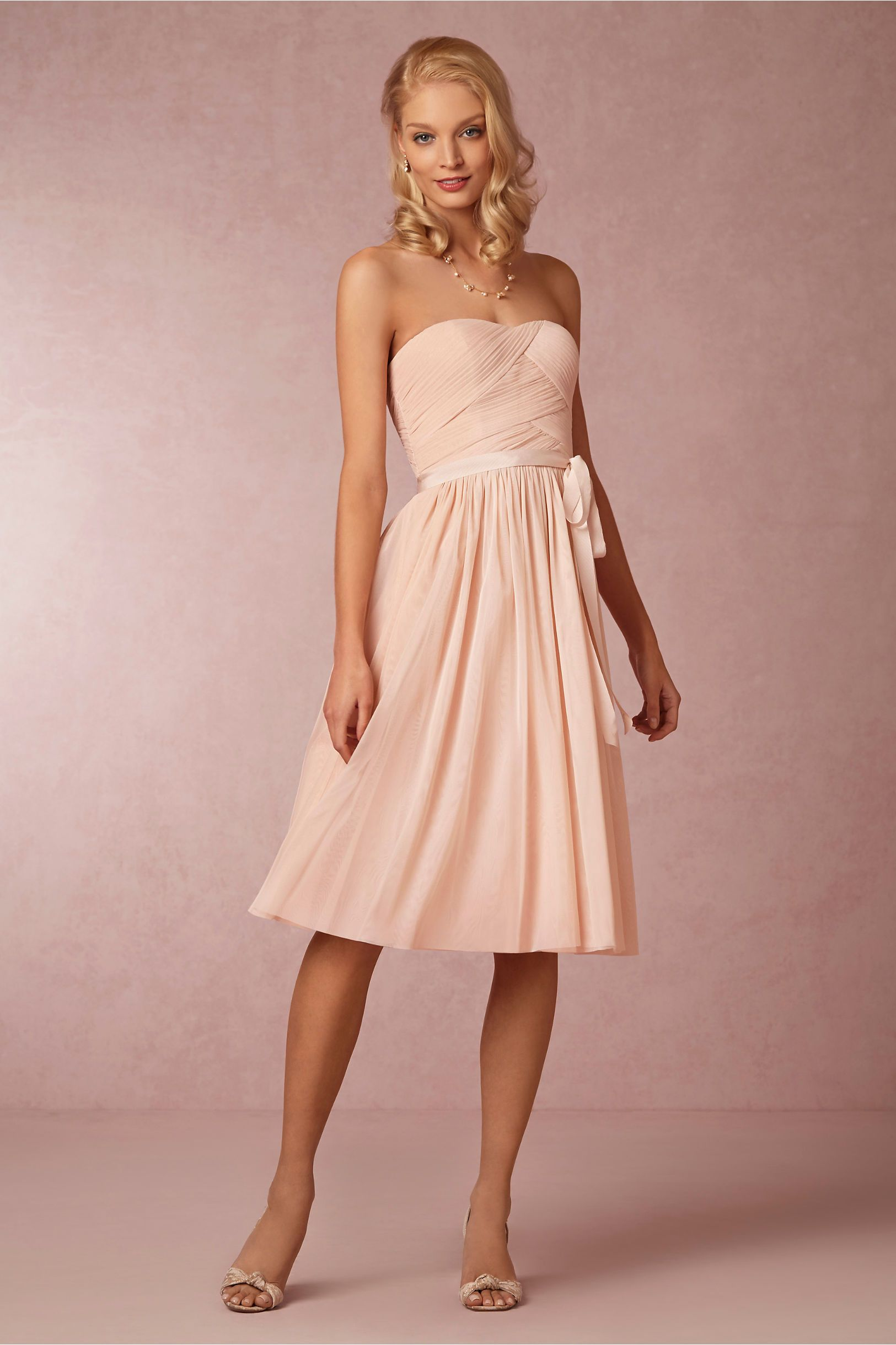 Cordelia Dress from BHLDN. Only offer 3 colors: blush, sea glass and ...