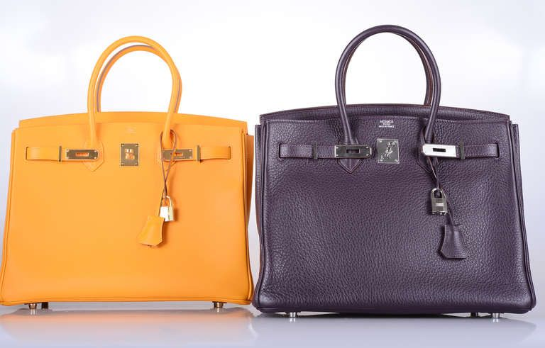 92df53c1c24 HAPPIEST COLLECTION EVER! HERMES BIRKIN BAG 35CM YELLOW JAUNE D OR ...